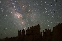 Milky Way Over Bryce